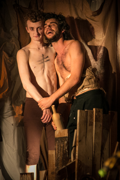 Ariel and Caliban (Joseph Law and Ruskin Denmark)